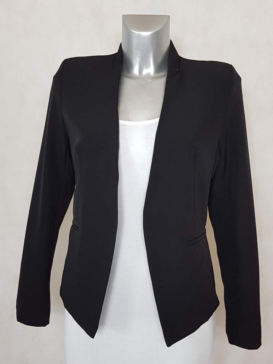veste-blazer-femme-noir-sans-col