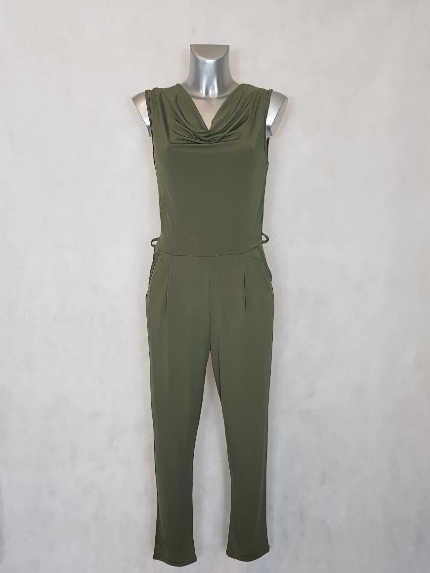 combinaison-pantalon-femme-fluide-kaki
