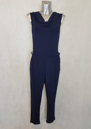 combinaison pantalon femme fluide marine