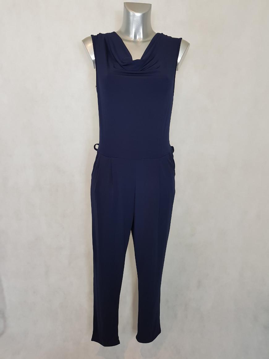 combinaison-pantalon-femme-fluide-marine-uni