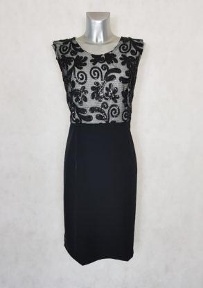 robe femme grande taille cocktail à dentelle