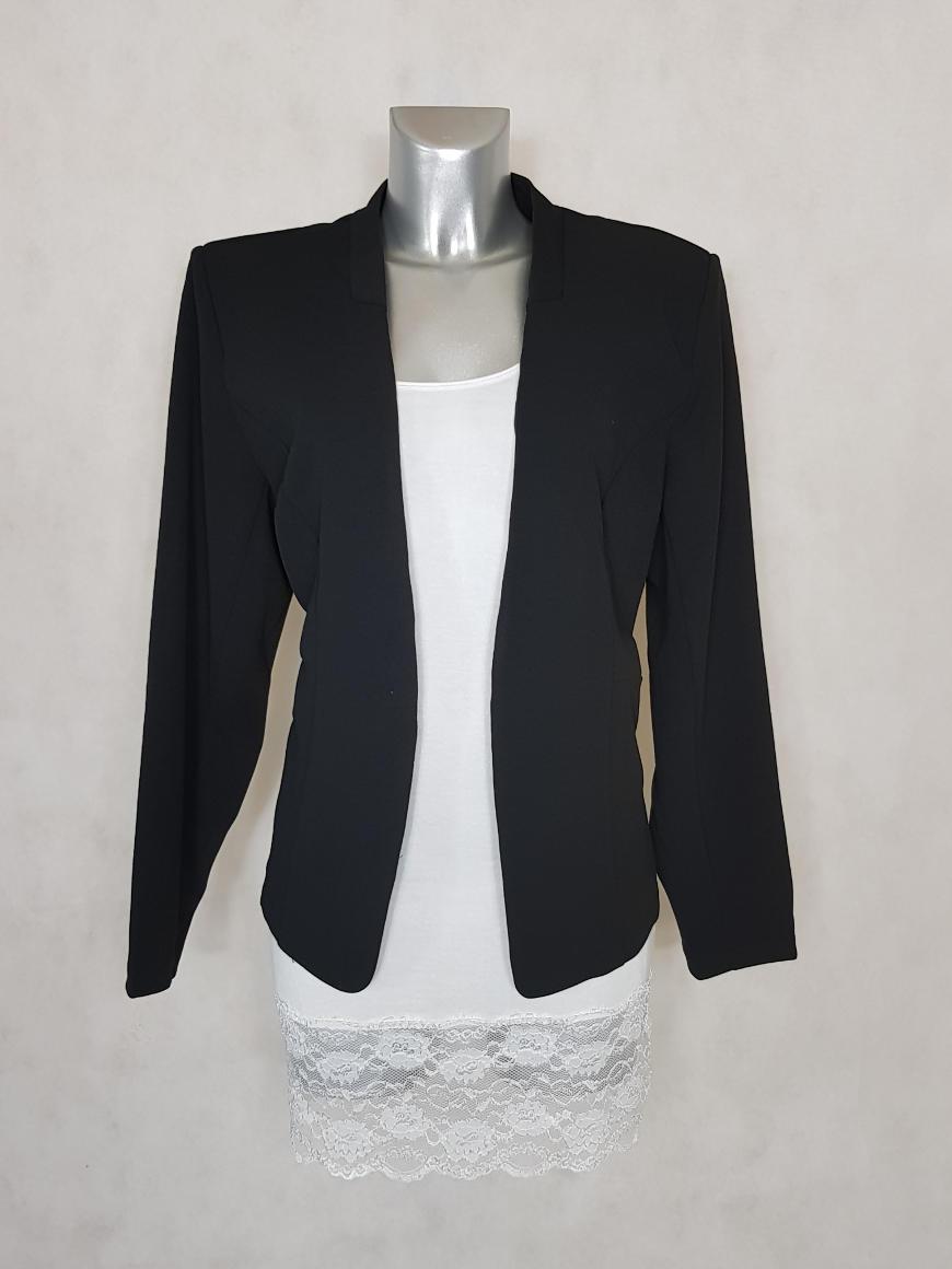 veste-blazer-femme-grande-taille-noir