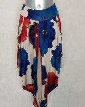 pantalon femme fluide imprimé floral