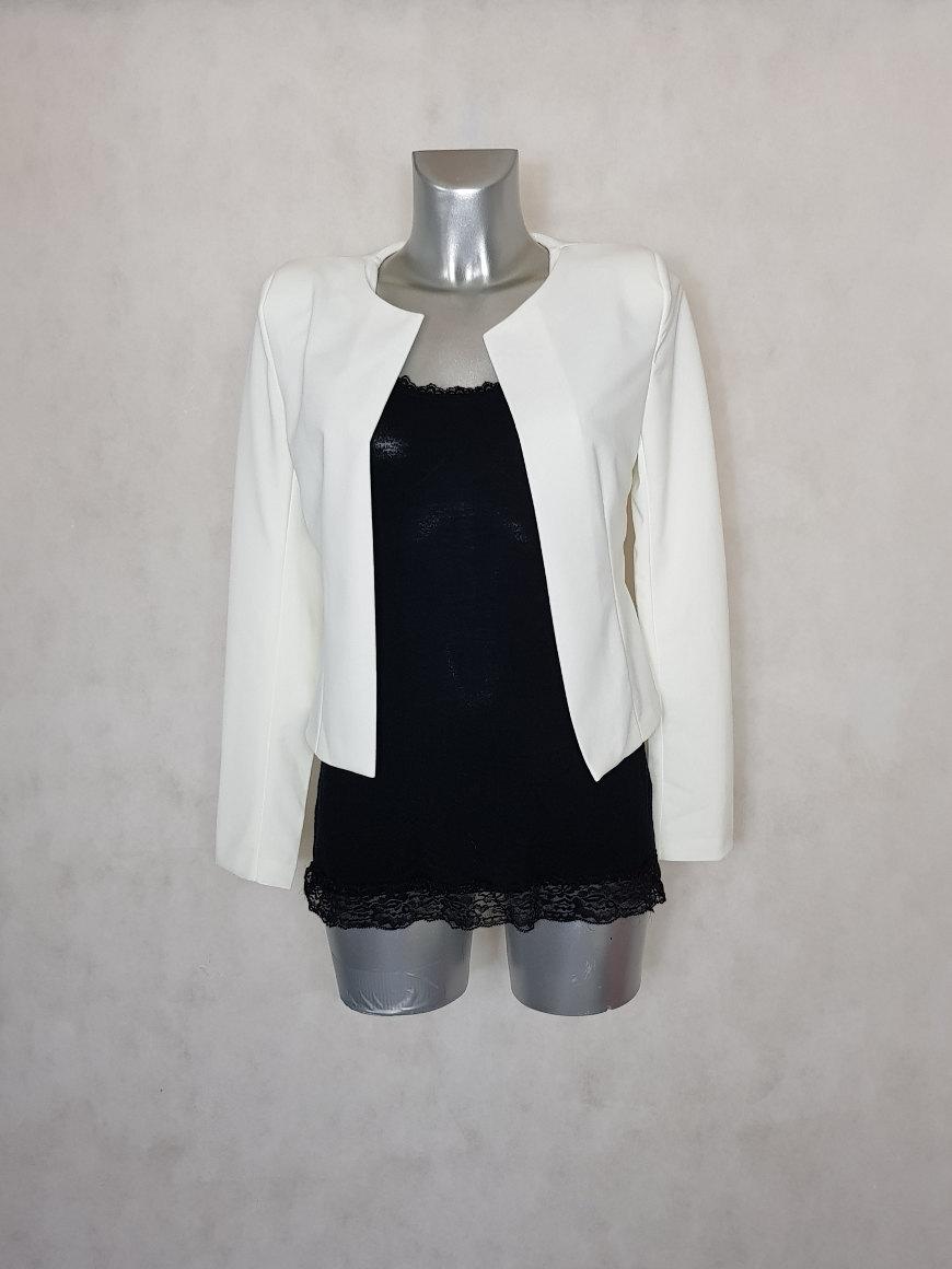 veste-bolero-femme-unie-blanc-manches-longues