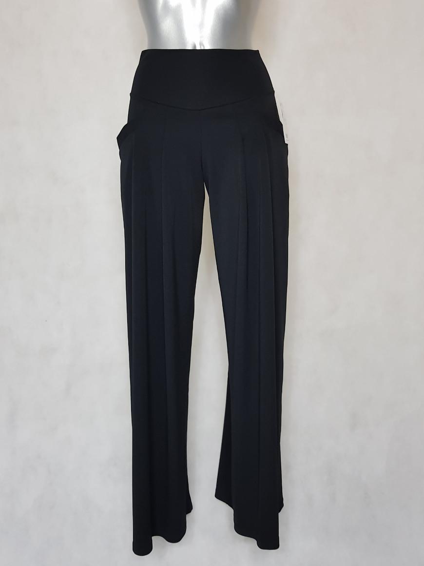 pantalon-femme-large-noir-fluide-taille-haute