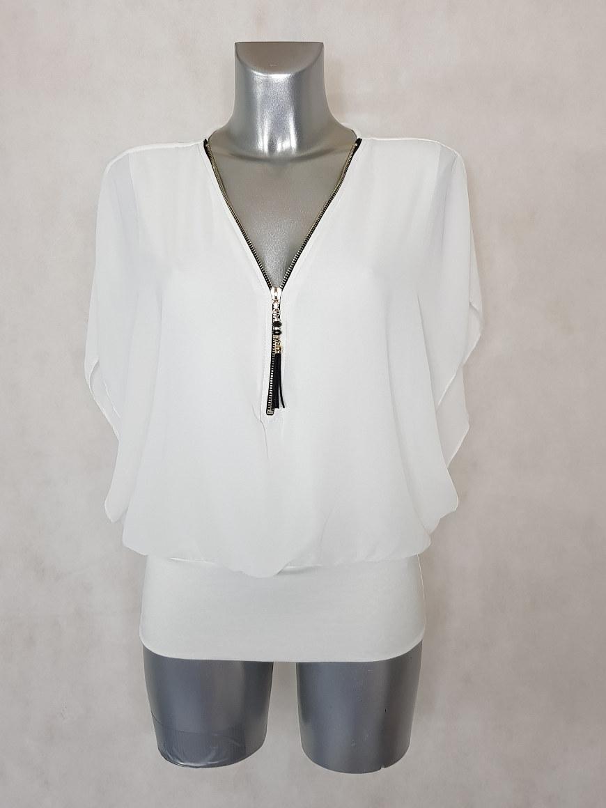 tunique-femme-blousante-blanche-2en1-col-zippe