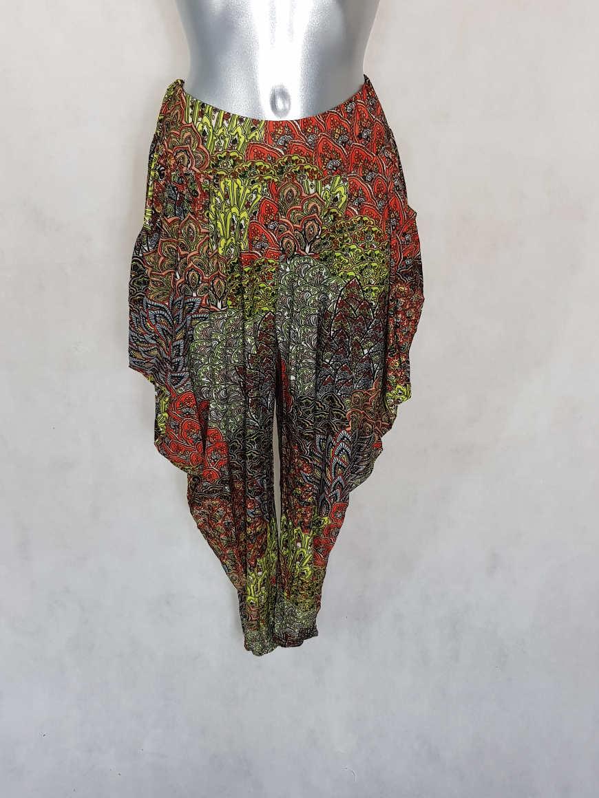 pantalon-femme-sarouel-fluide-anis-motif-azteque