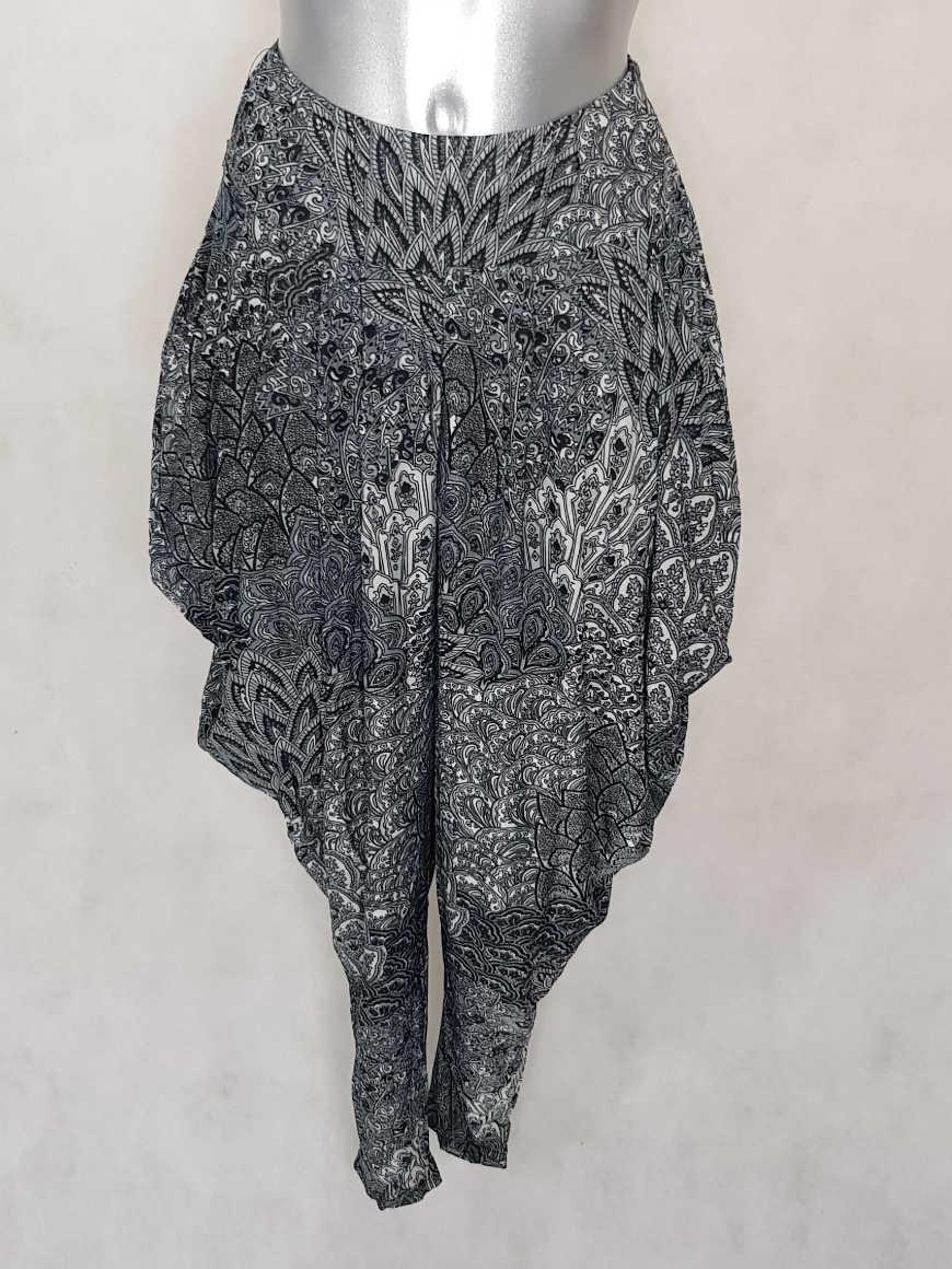 pantalon-femme-sarouel-fluide-noir-motif-azteque1