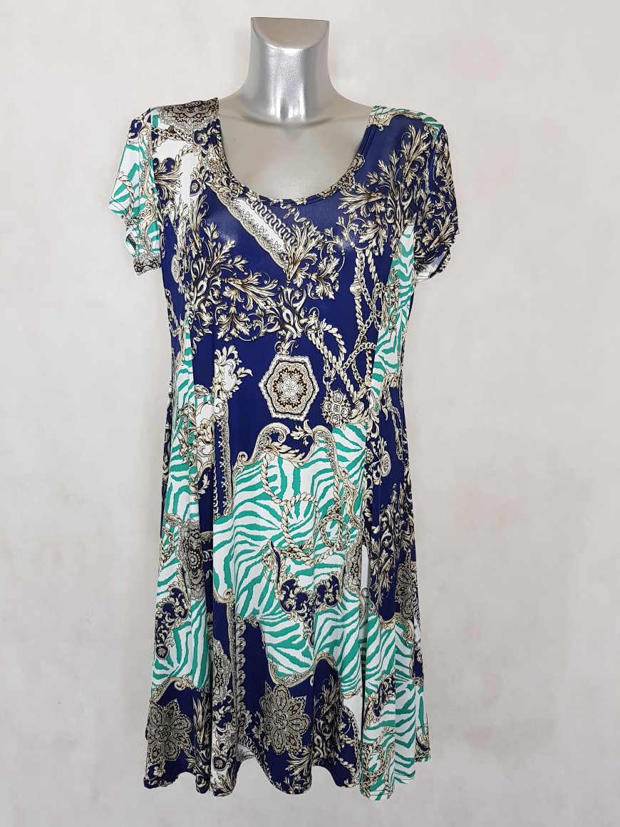 robe-femme-ronde-evasee-azur-motif-baroque-coupe-courte1