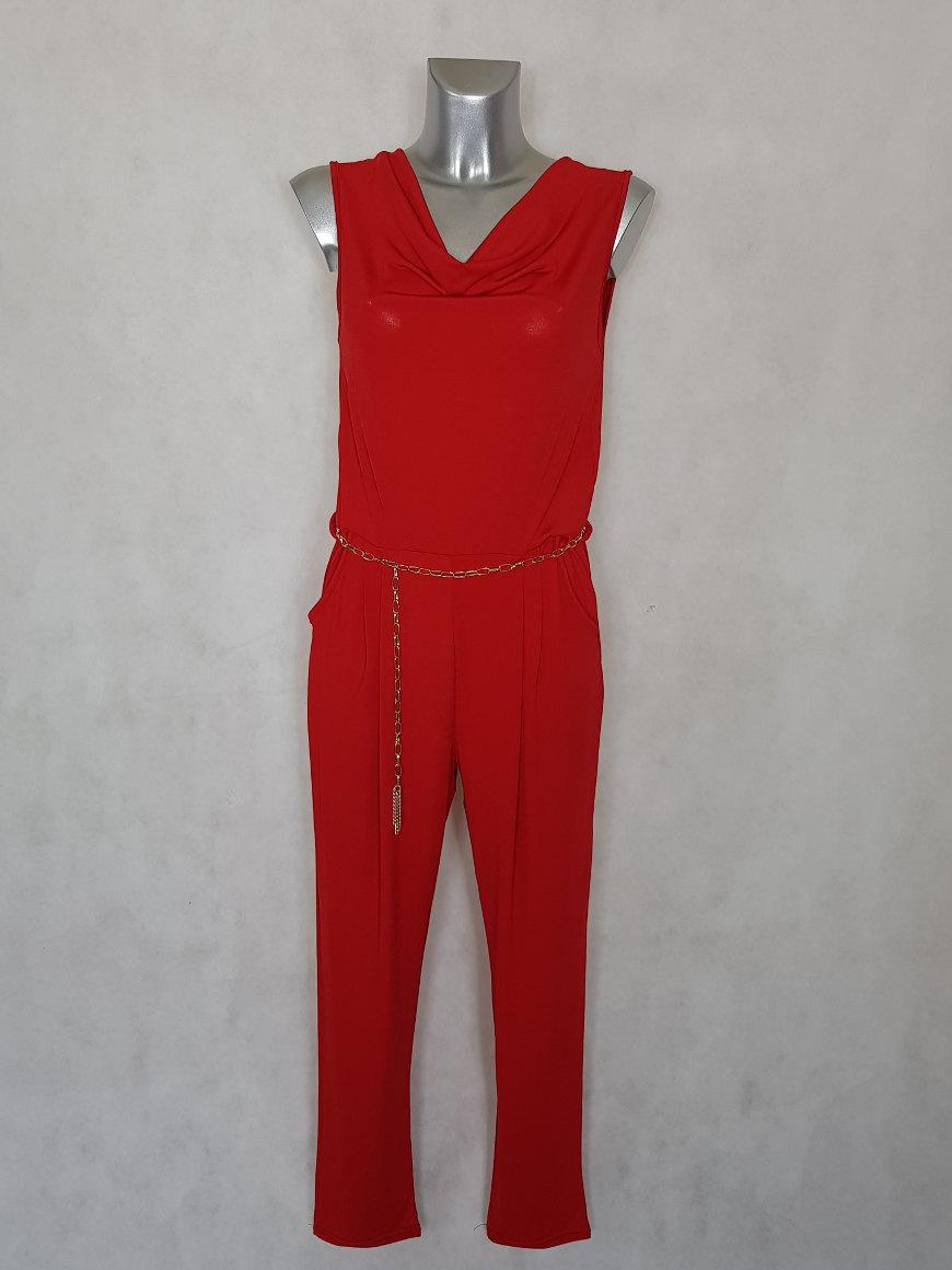 combinaison-pantalon-femme-fluide-rouge-uni-col-benitier1