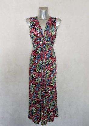 robe-femme-longue-evasee-bordeaux-motif-wax-ceinture-a-nouer