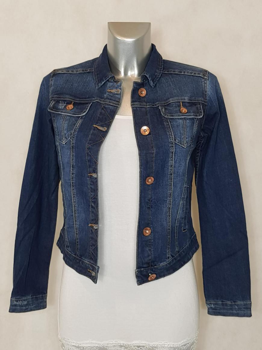 veste en jeans bleu femme cintrée et courte - Aux caprices de madeleine 85a76601d7d2