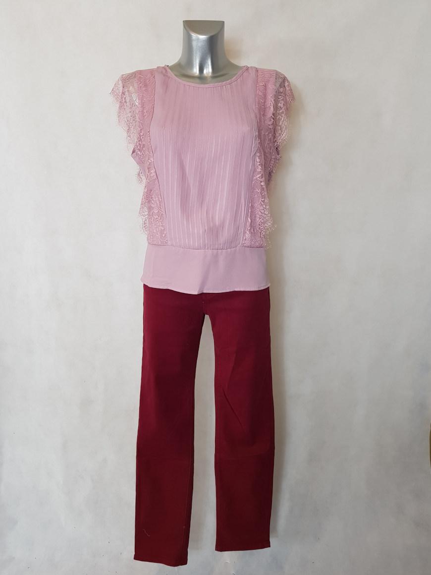 pantalon-femme-droit-taille-haute-bordeaux-gainant. Scroll Up. Pantalon ... d4c5a3914c00