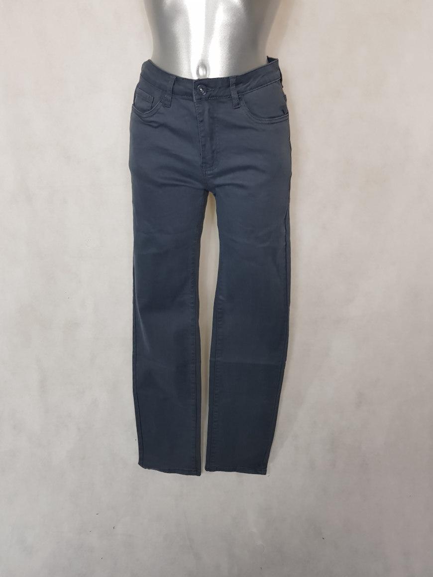 78b53a54720bf Pantalon femme droit taille haute gris perle - Aux caprices de madeleine