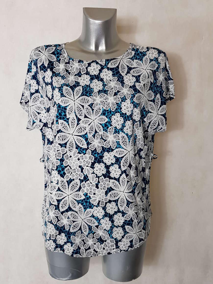 tunique-femme-fluide-motif-minimaliste-azur