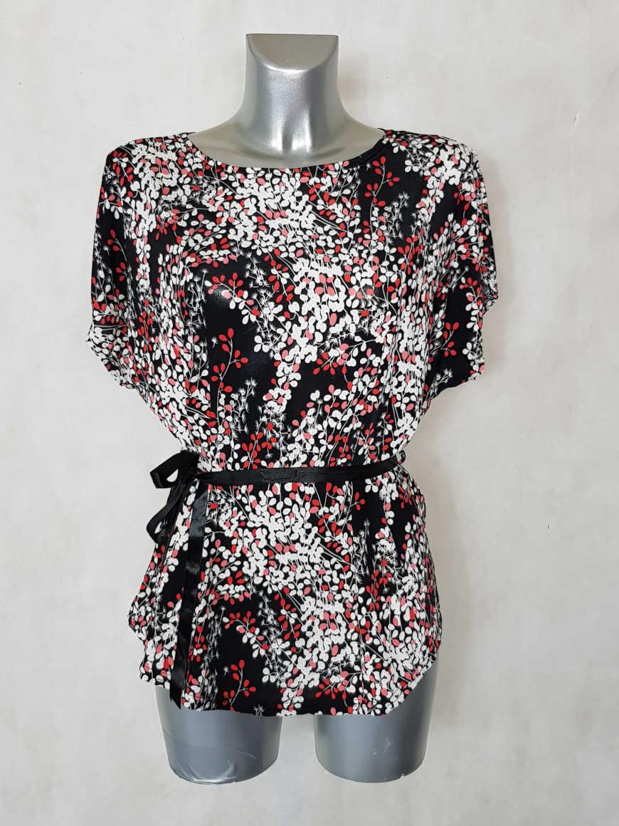 tunique-femme-fluide-motif-minimaliste-rouge1