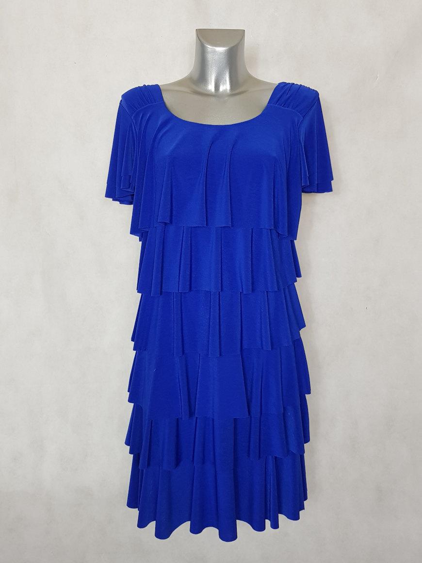 robe-femme-fluide-bleu-roi-a-volants-superposes