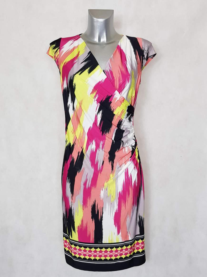 robe-femme-fluide-drapee-cache-coeur-motif-art2