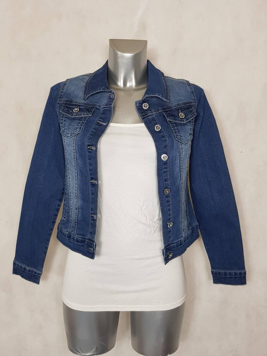 Veste Jeans bleu délavé A