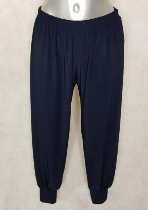 Pantalon bouffant femme ronde ceinture élastique