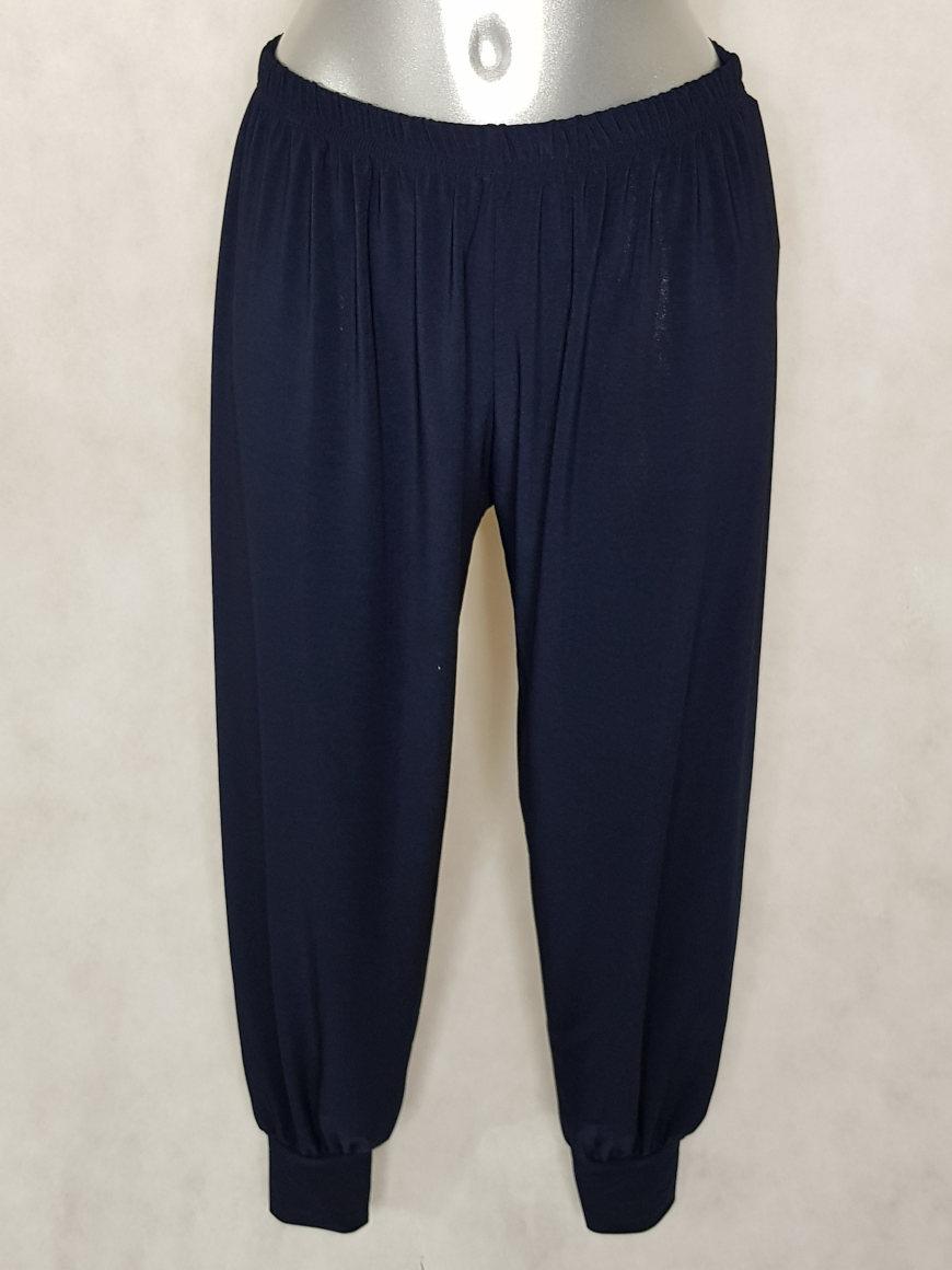 pantalon-bouffant-femme-marine-taille-elastiquee