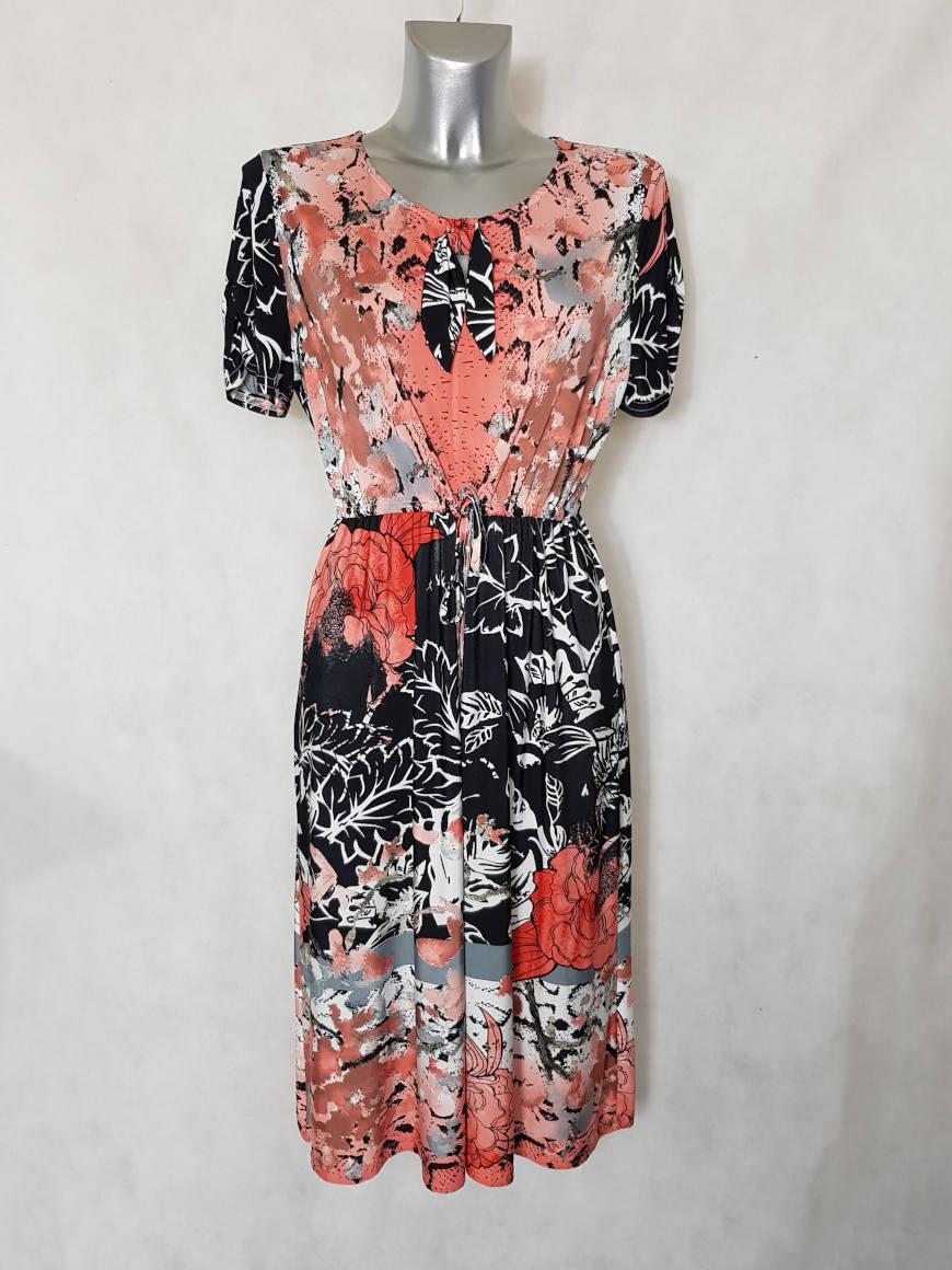 robe-femme-ronde-fluide-evasee-motif-floral