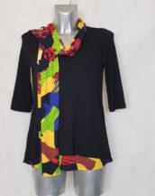 tunique-femme-droite-noir-motif-abstrait