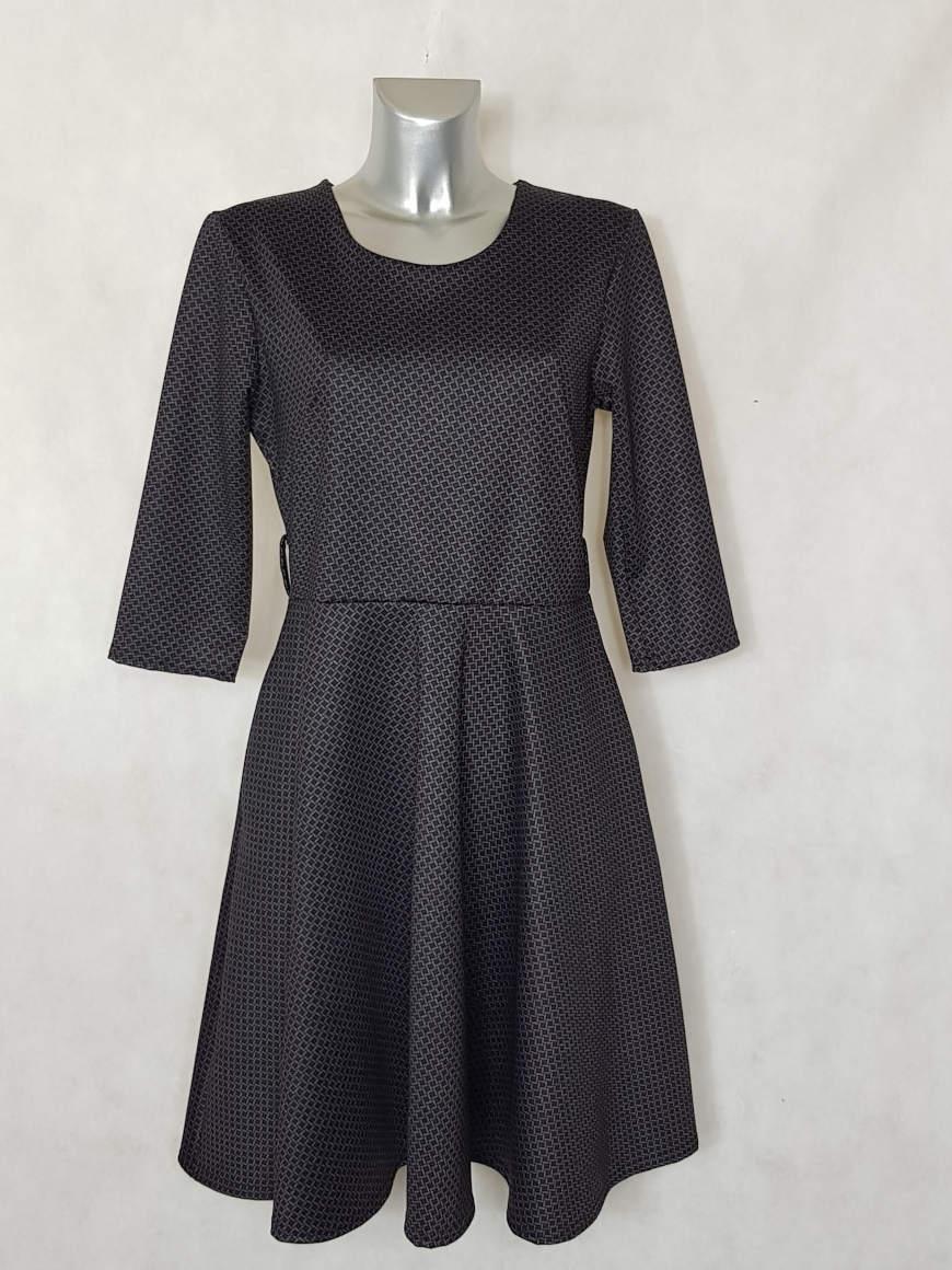 robe-patineuse-femme-bordeaux-motif-mosaique1