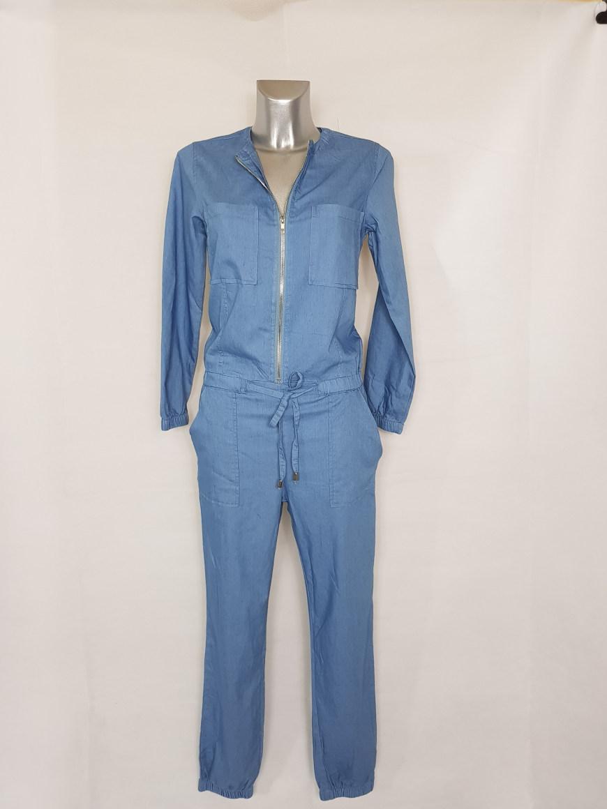 combinaison-jeans-femme-smocks-col-rond-a-zip1
