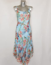 robe femme longue originale en voile à bretelles