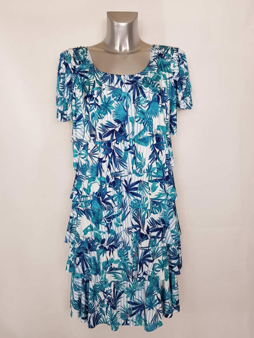 robe-femme-a-volants-original-motif-tropical-chic
