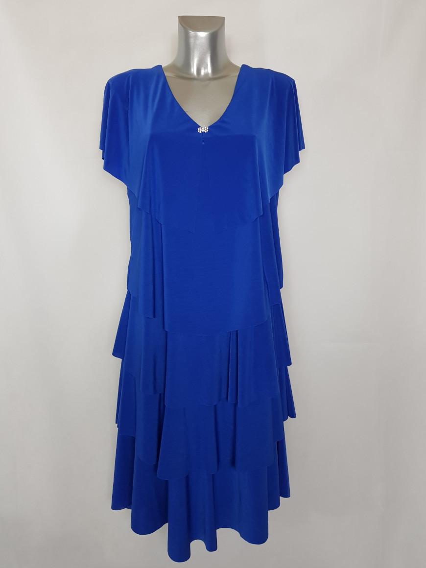 robe-longue-fashion-a-volants-femme-pulpeuse1