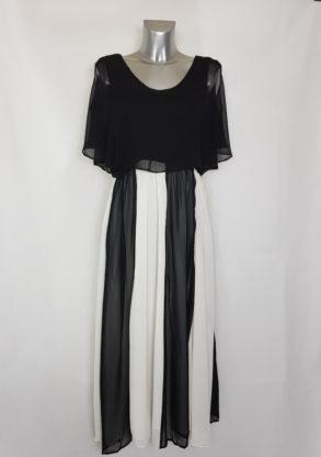 Robe longue soirée femme ronde taille élastique