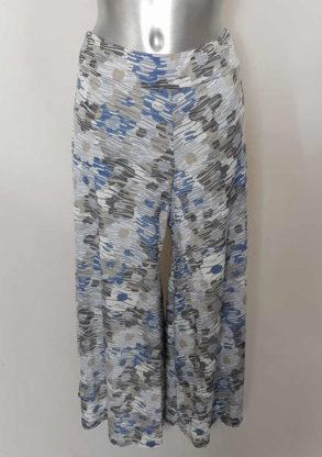 Jupe culotte femme motif originale taille élastique