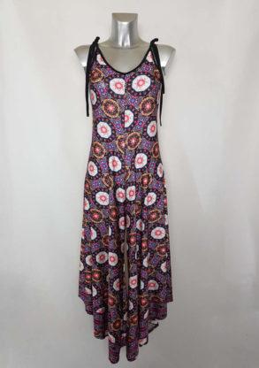 Combi-pantalon large tendance femme à motif