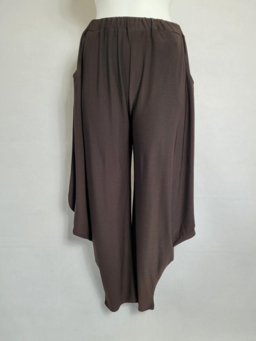 Pantalon sarouel chic original femme grande taille5