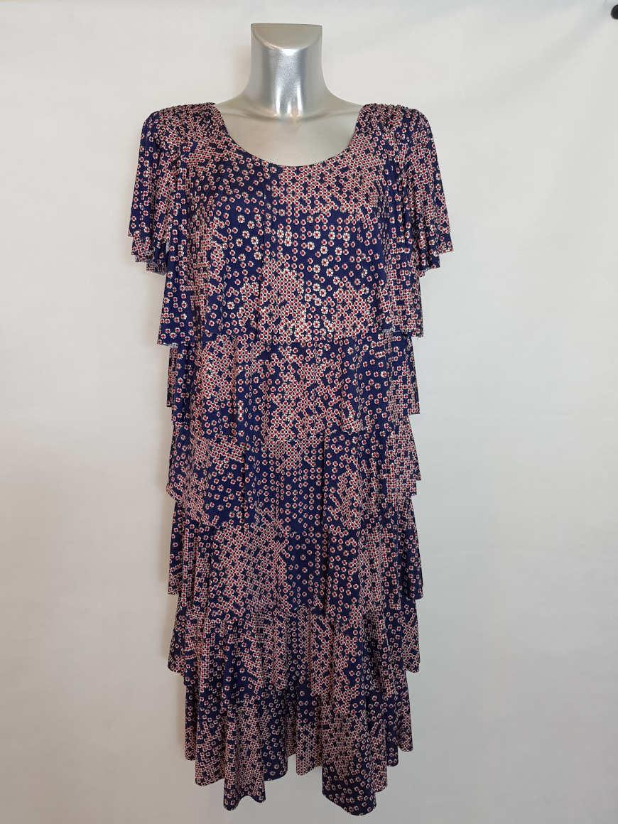 robe-tendance-femme-ronde-manches-courtes1