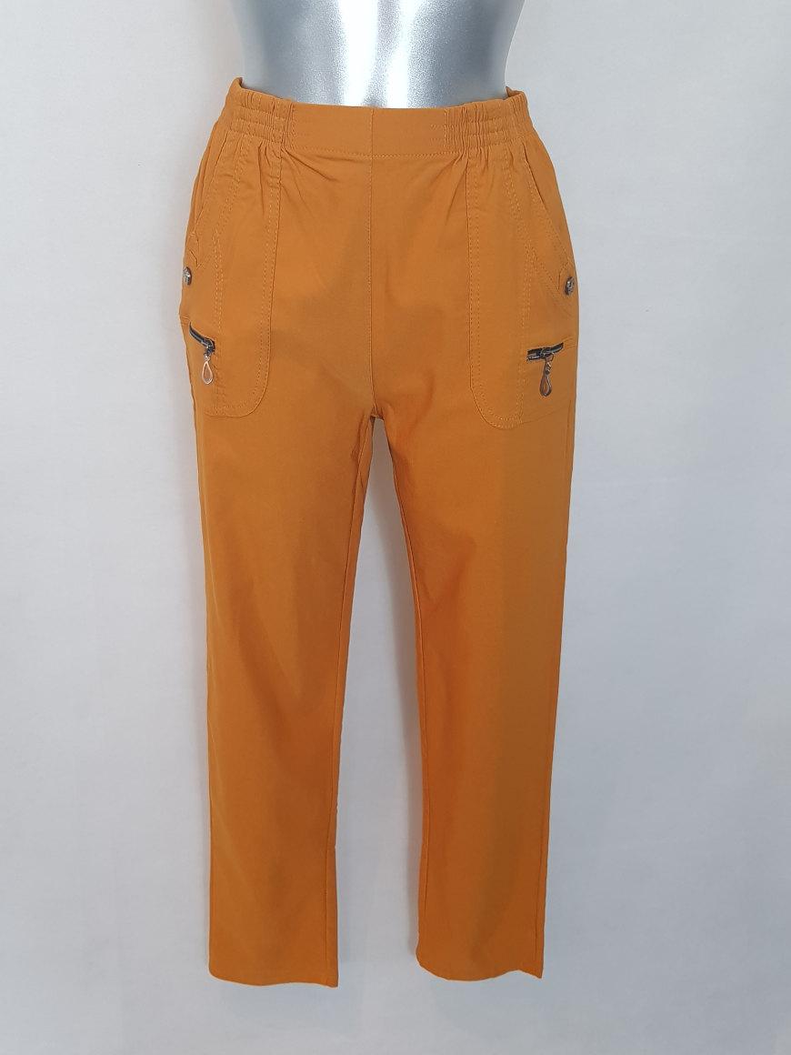 pantalon-elegant-confortable-colore-femme-ronde