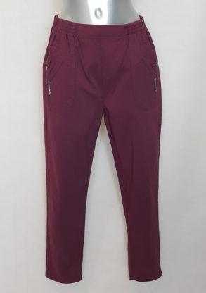 Pantalon senior femme grande taille élégant