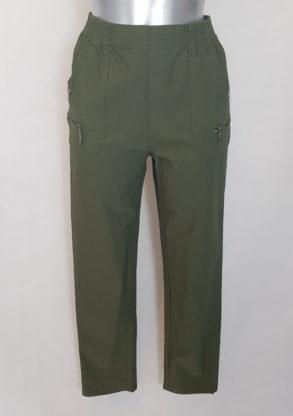 Pantalon grande taille confortable femme ronde