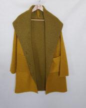 Manteau laine originale femme grande taille