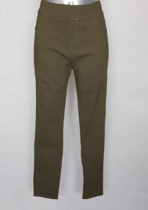 Pantalon confortable femme ronde taille haute