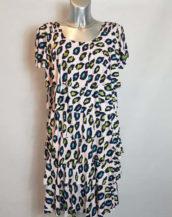Robe léopard originale femme grande taille chic