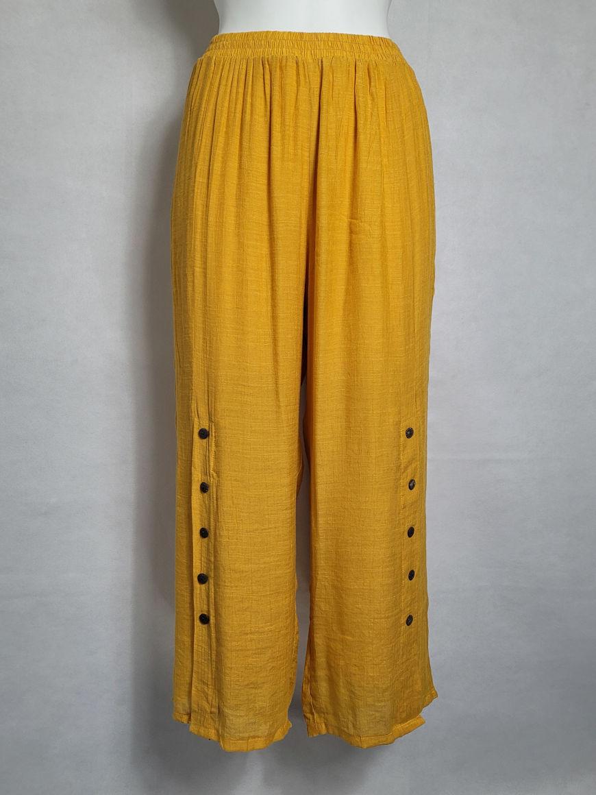Pantalon ample femme grande taille tendance5