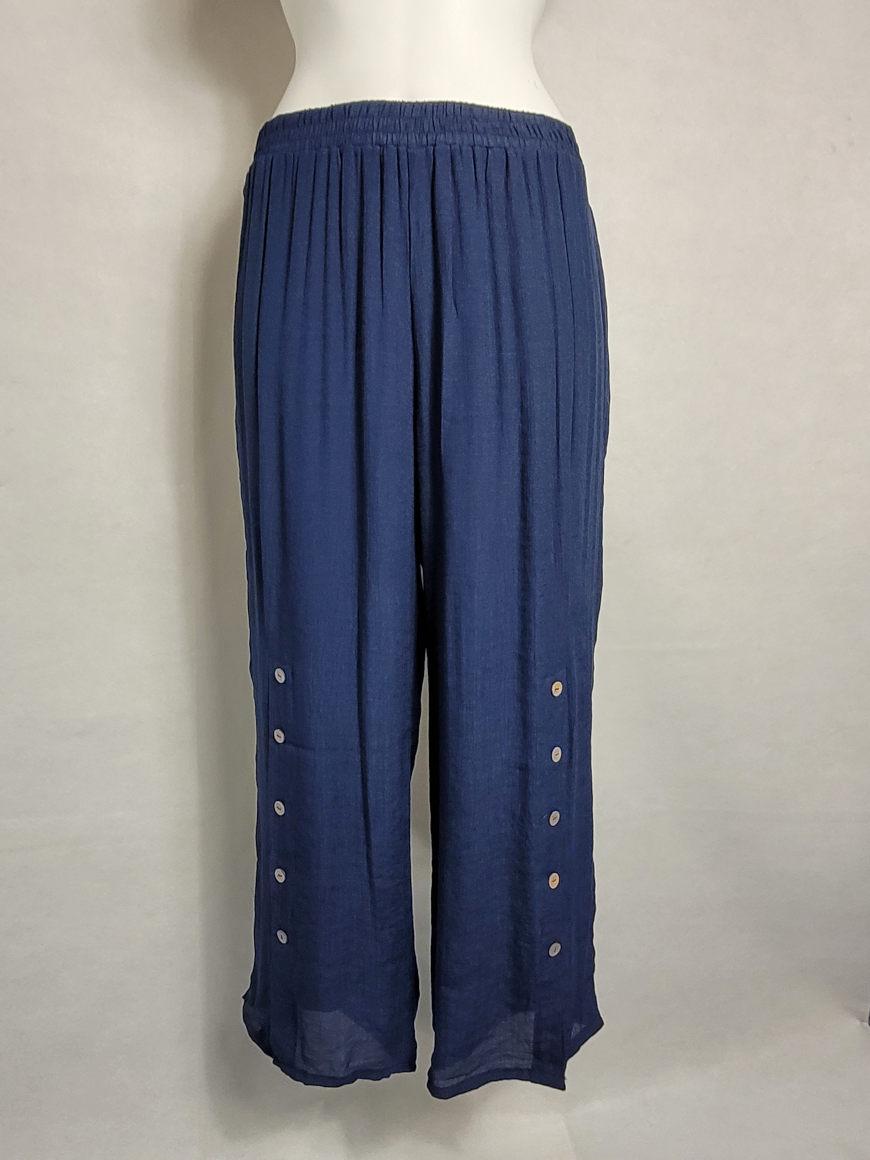 Pantalon ample fluide femme grande taille forte1