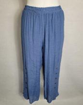 Pantalon ample mode femme grande taille forte