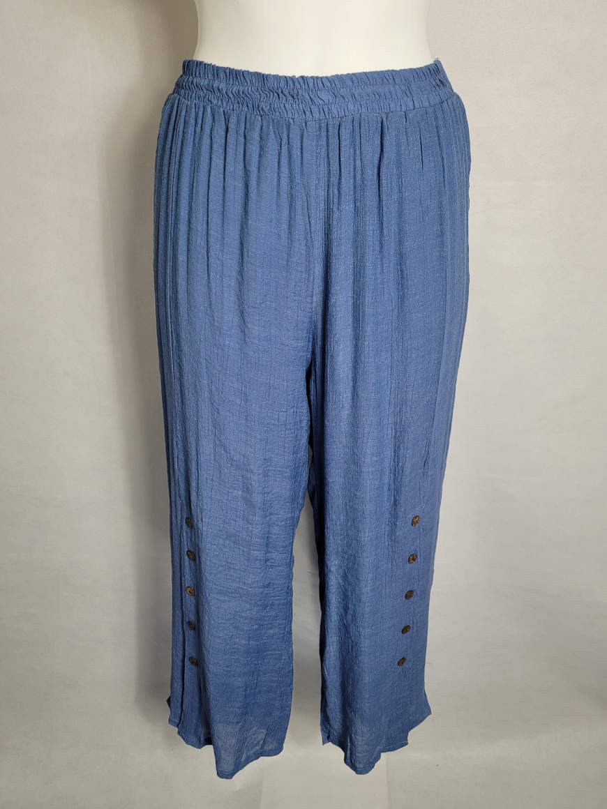 Pantalon ample mode femme grande taille forte2
