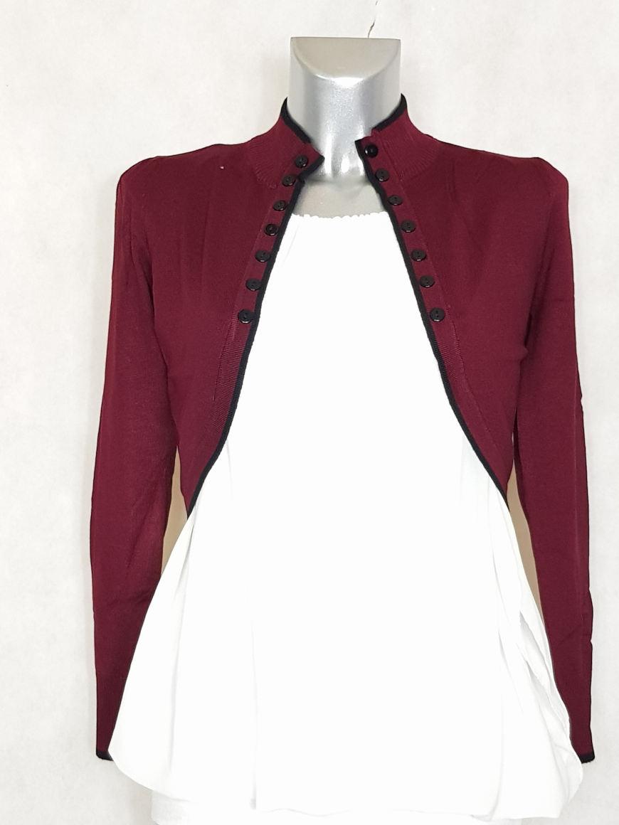 veste-bolero-femme-bordeaux-lisere-noir1