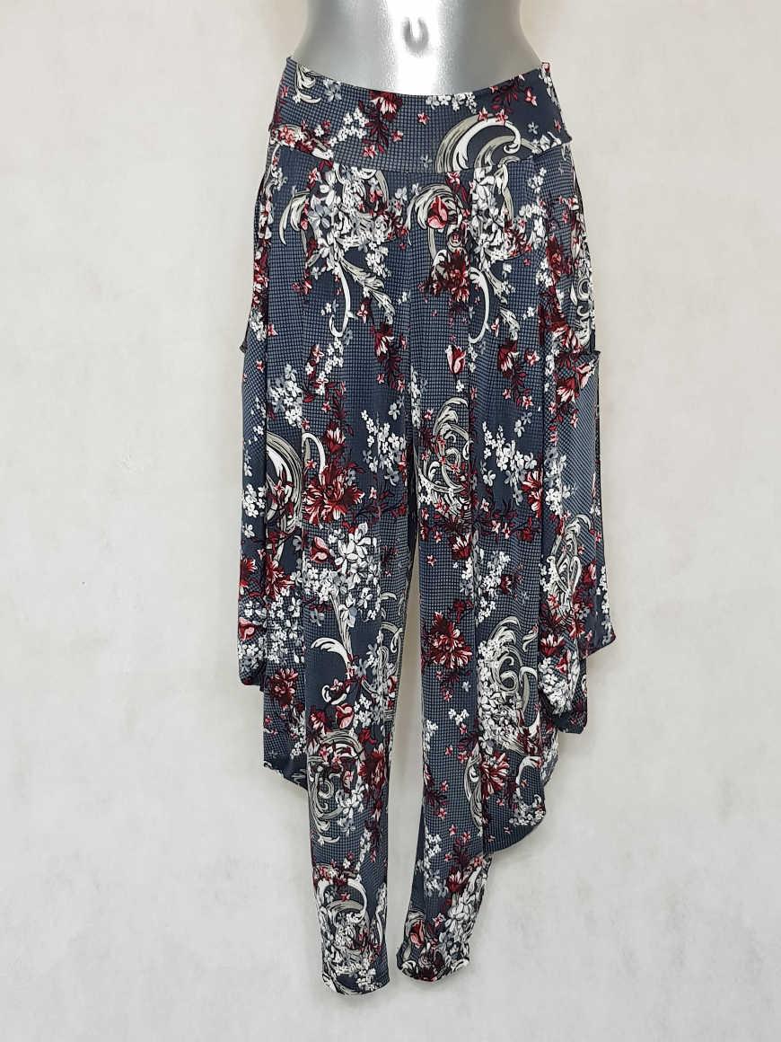pantalon-femme-sarouel-fluide-gris-motif-baroque1