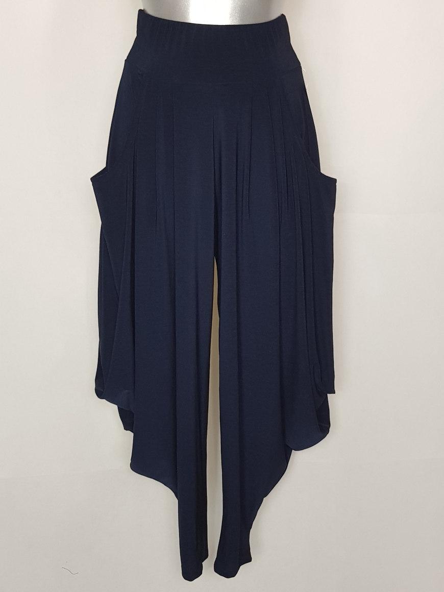 Pantalon sarouel grande taille femme ronde1